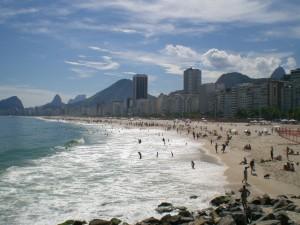 Copa Cabana Beach, Rio de Janeiro